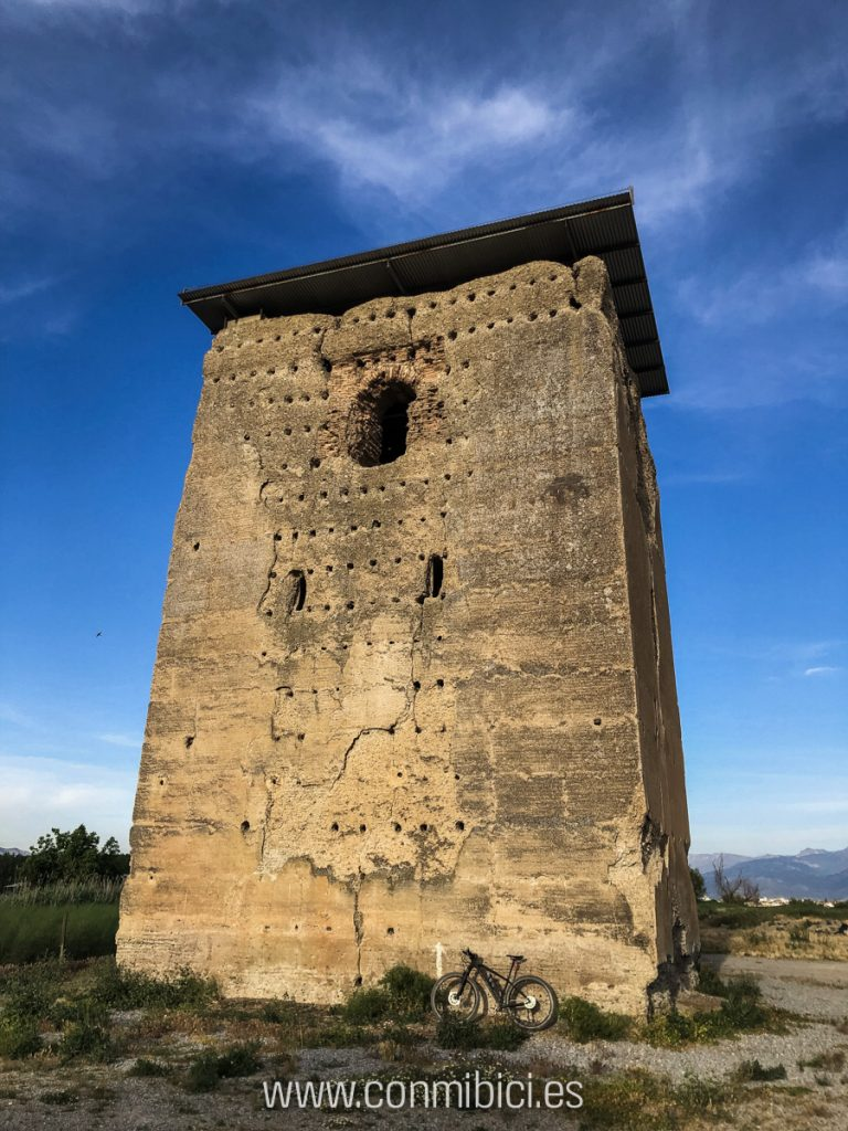 Ruta dos vértices geodésicos granada - Torre de Roma